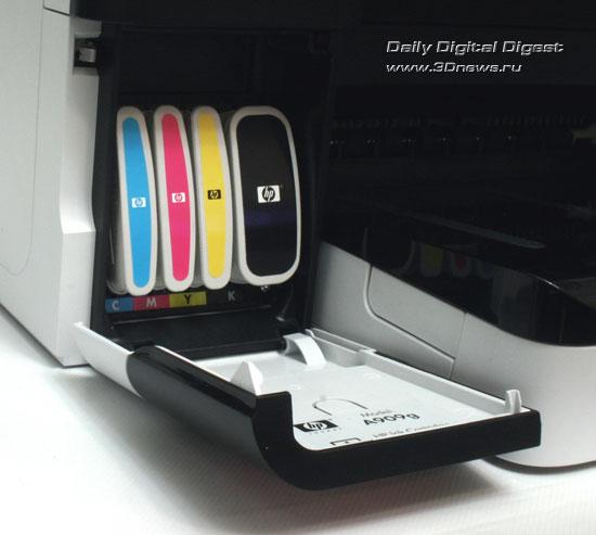 HP Officejet Pro 8500 Wireless (a909g). Отсек установки картриджей