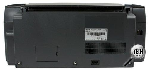 Epson Stylus TX117. Вид сзади