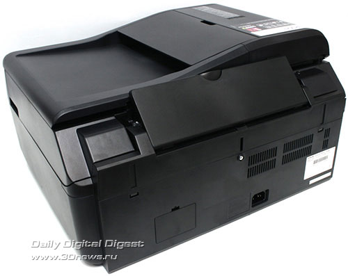 Epson Stylus Office TX300F. Вид сзади