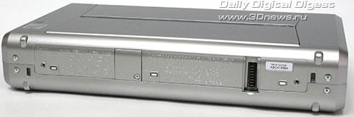 Canon PIXMA iP100. Вид сзади
