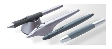 Линейка перьев для графического планшета Wacom Intuos3