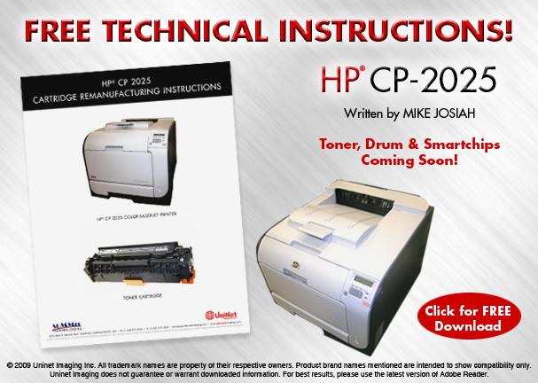 Инструкция по заправке картриджа HP CP2025