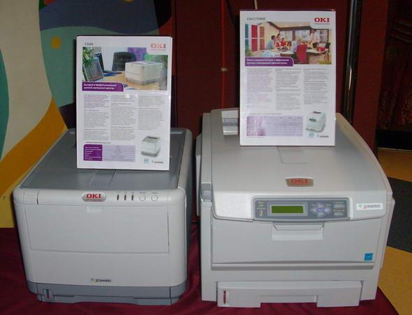 Цветные принтеры C3450 и C5650