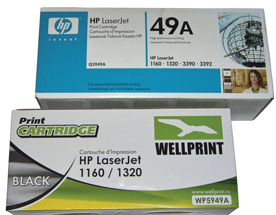 Картридж для HP1320, HP1160 1