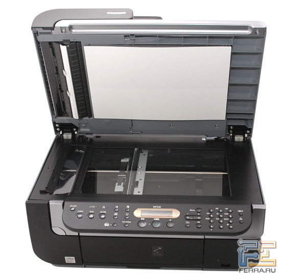 Canon PIXMA MP530: сканер 1