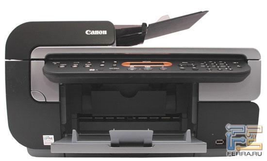 Canon PIXMA MP530: передняя панель и боковые торцы 1