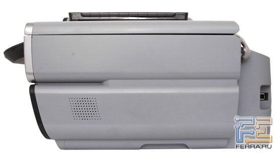 Canon PIXMA MP530: передняя панель и боковые торцы 2
