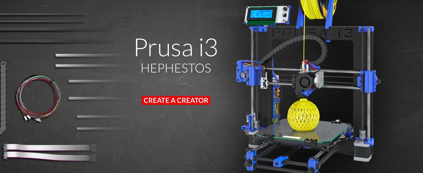 Prusa i3 HEPSTEROS от bq, DIY принтер, хочешь купить?