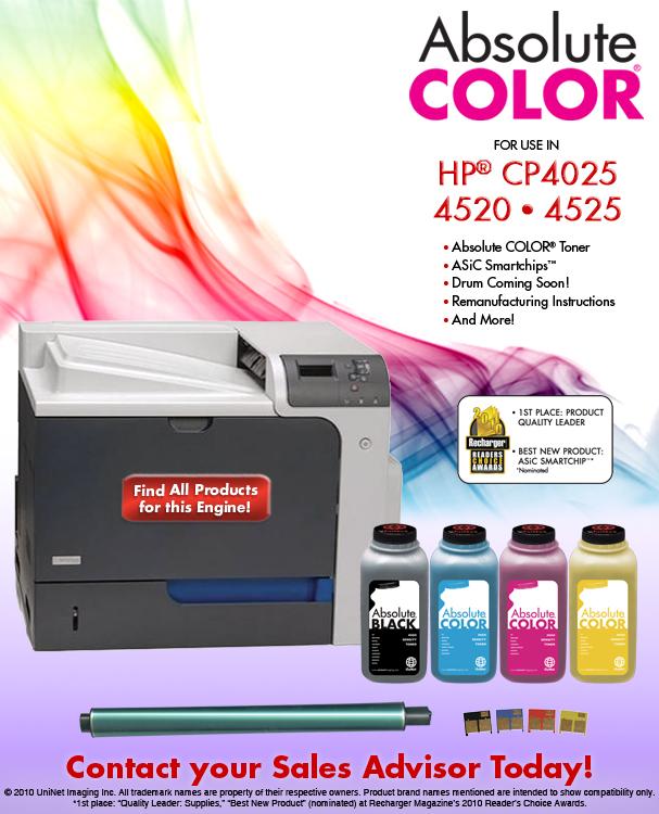 заказать тонер HP CP4525