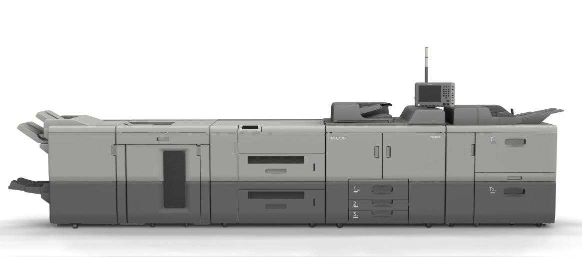 новая профессиональная монохромная ЦПМ с высоким качеством печати Ricoh Rro 8200S