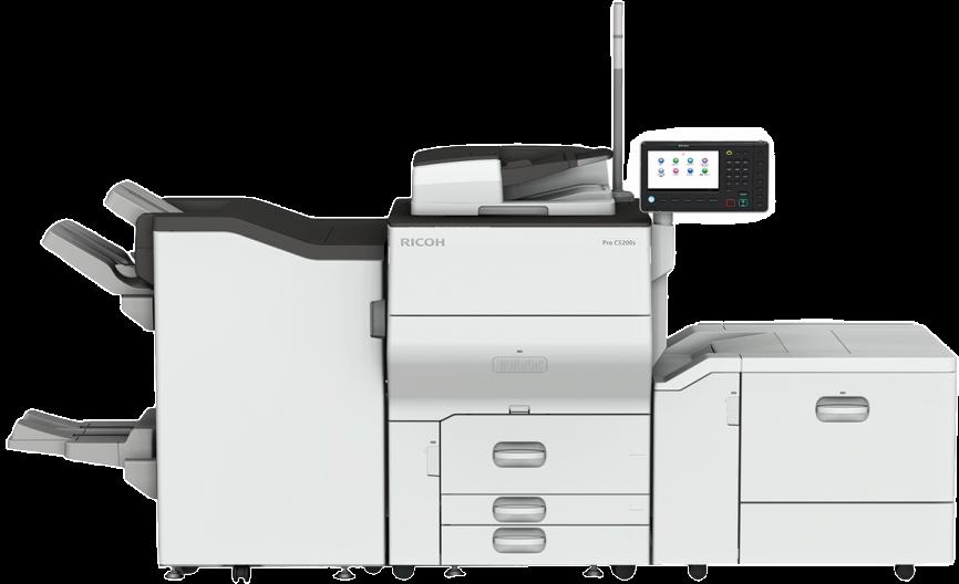 компактная цветная ЦПМ Ricoh Pro C5200S