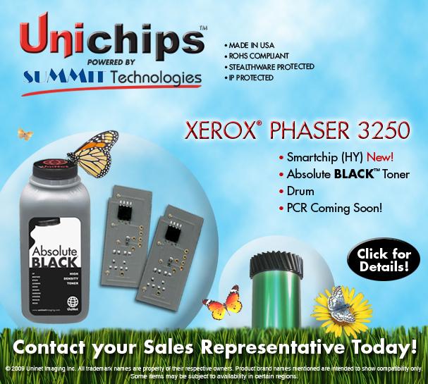 чип Uninet для лазерного принтера Xerox 3250